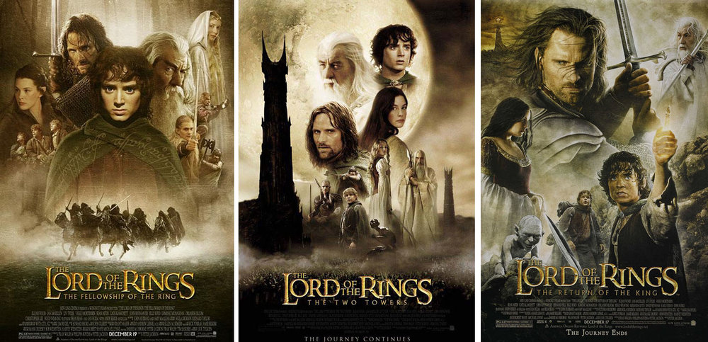 Image result for the lord of the rings all movies